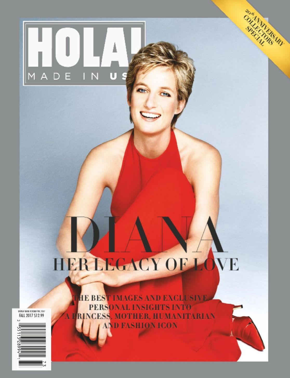 Hola usa diana 20th anniversary magazine digital for Anniversary magazine