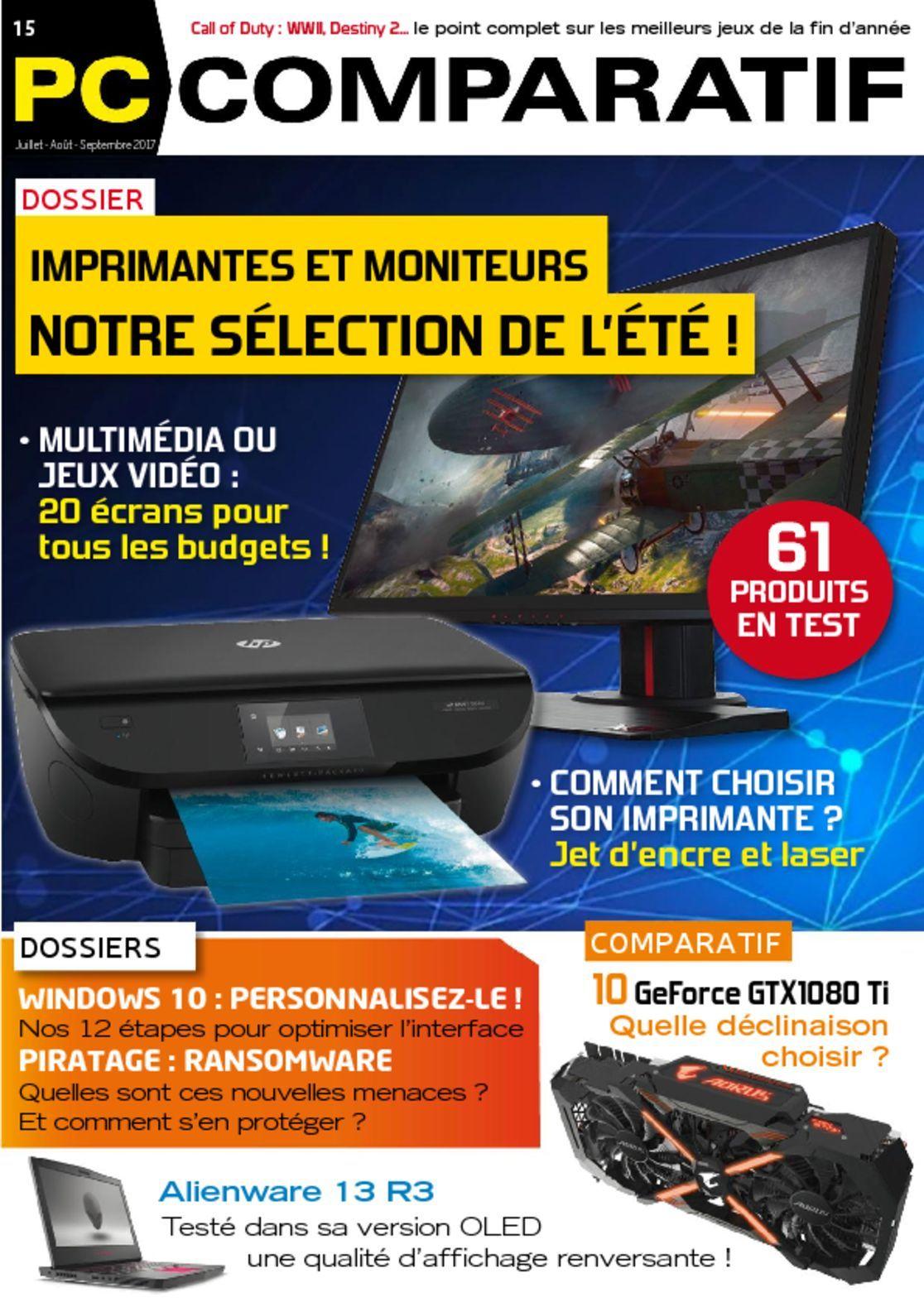 Pc comparatif magazine digital for Comparatif moniteur pc