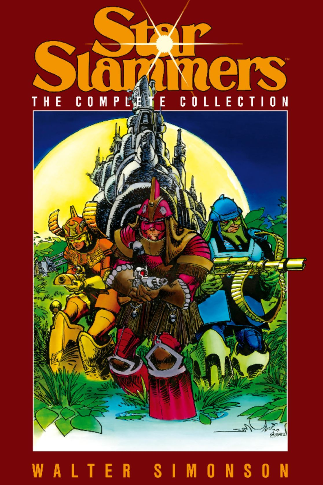 Star Slammers The Complete Collection by Walter Simonson Digital