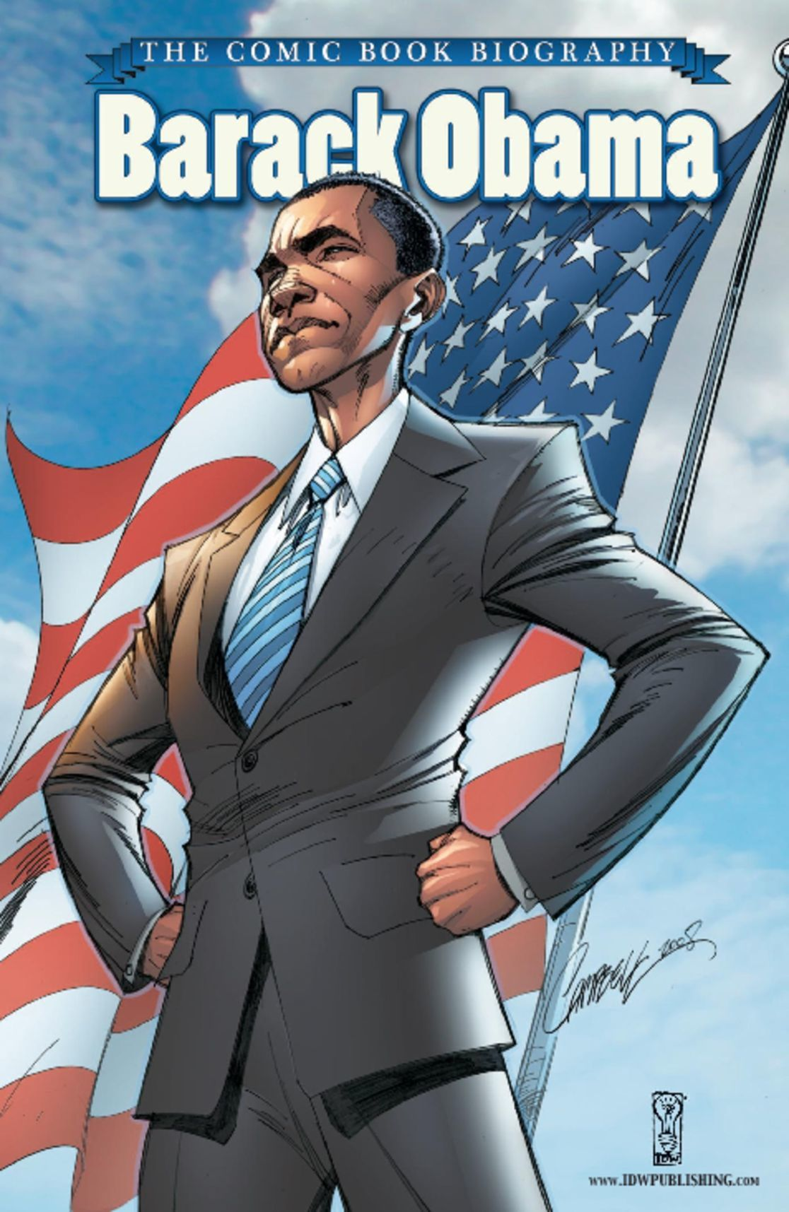 Barack Obama The Comic Book Biography Digital