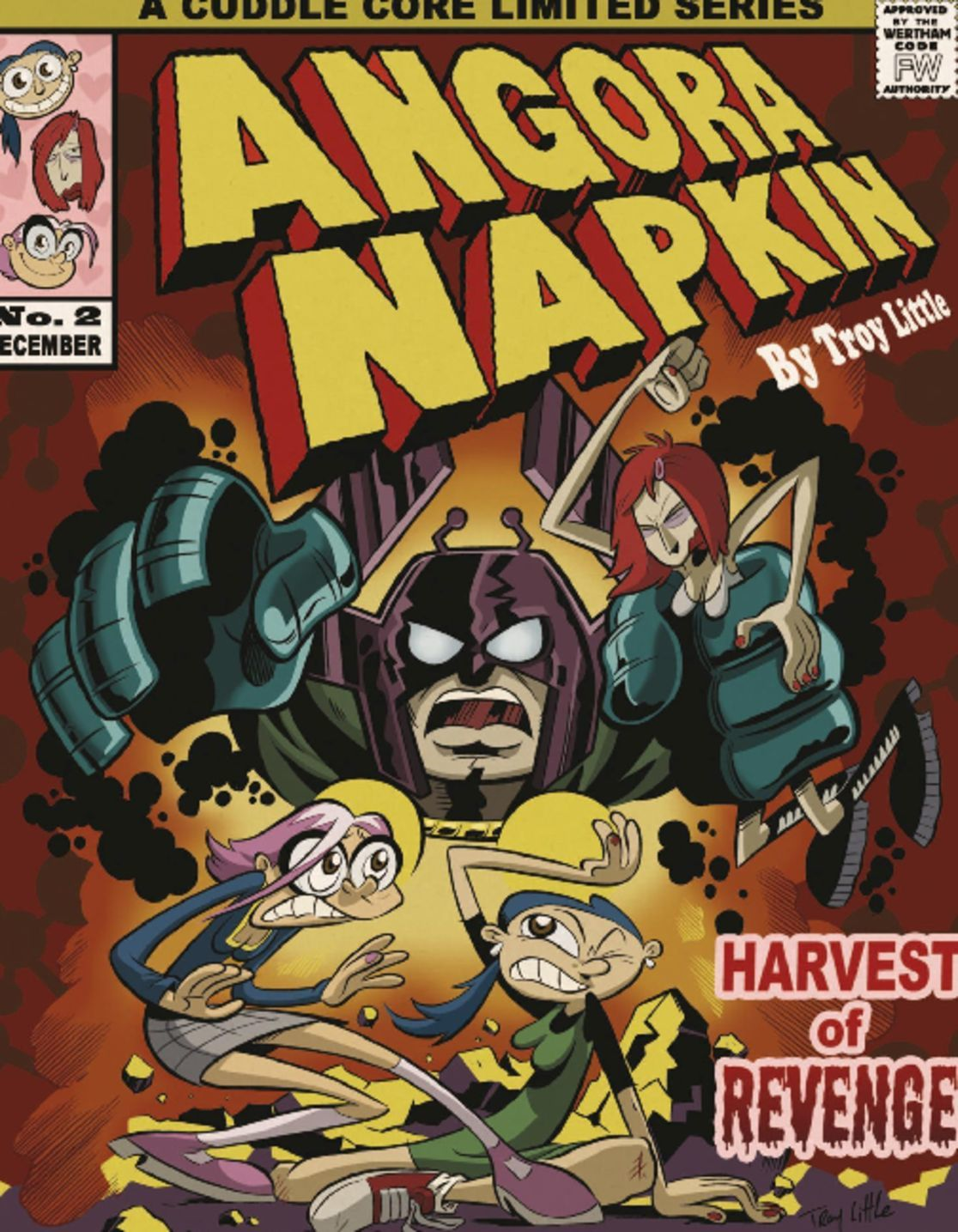Angora Napkin Vol 2 Harvest of Revenge Digital
