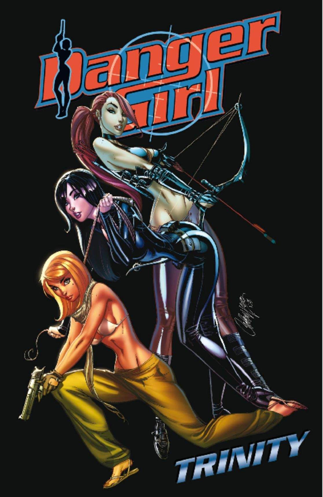 Danger Girl Trinity Digital