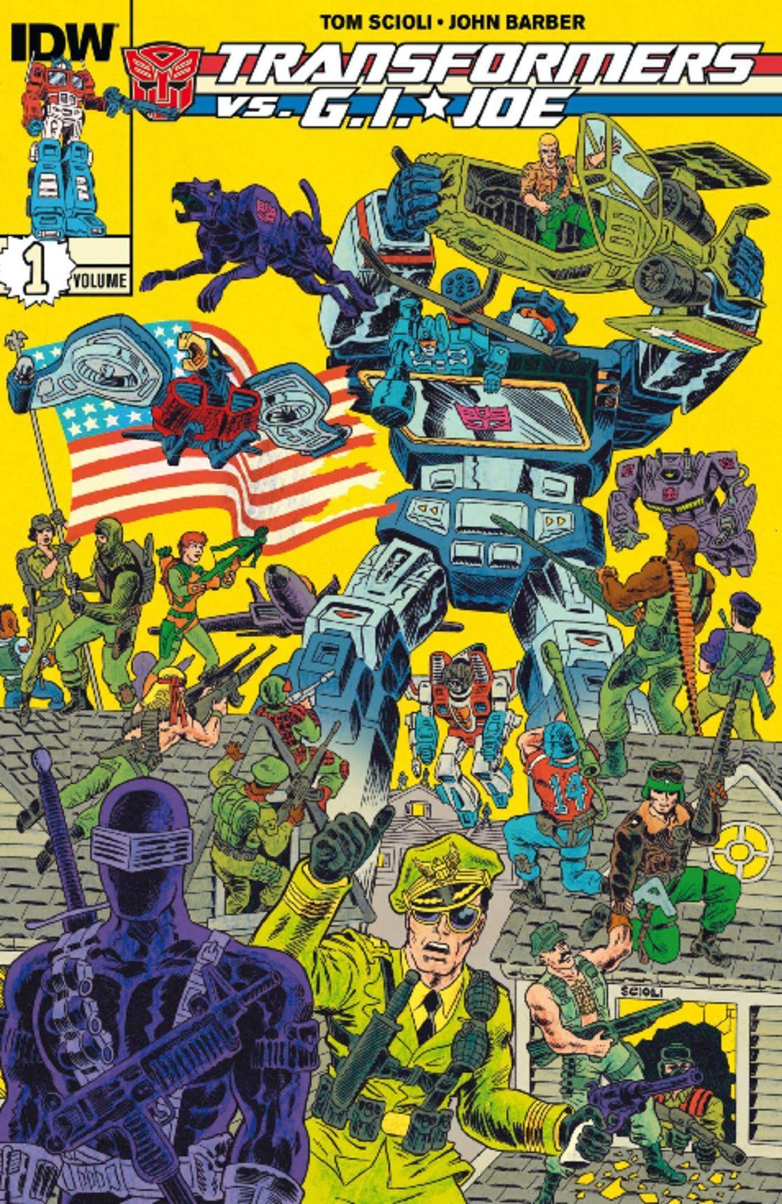 Transformers vs GI Joe Vol 1 Digital