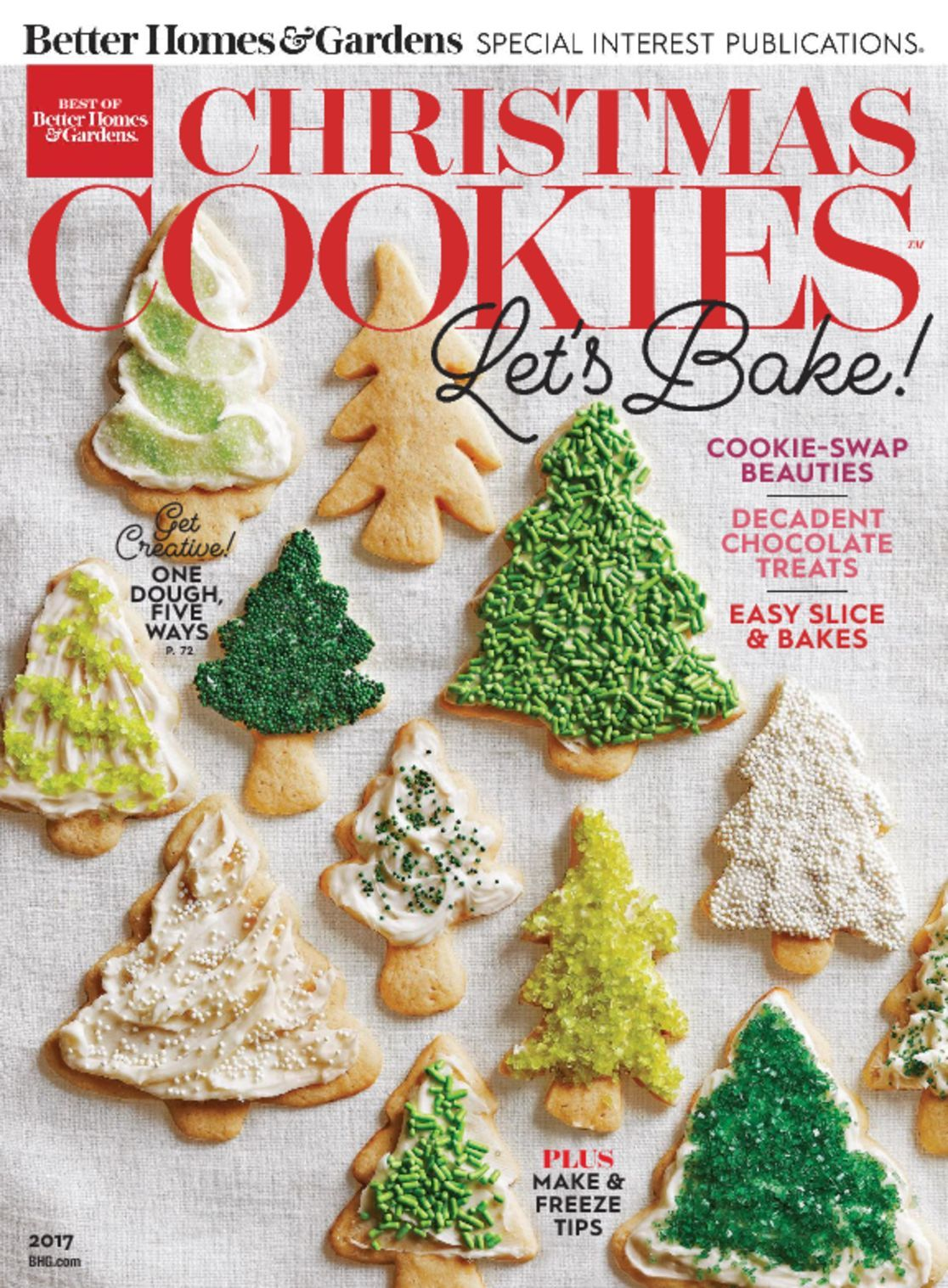 Best of better homes gardens christmas cookies magazine Better homes and gardens christmas special