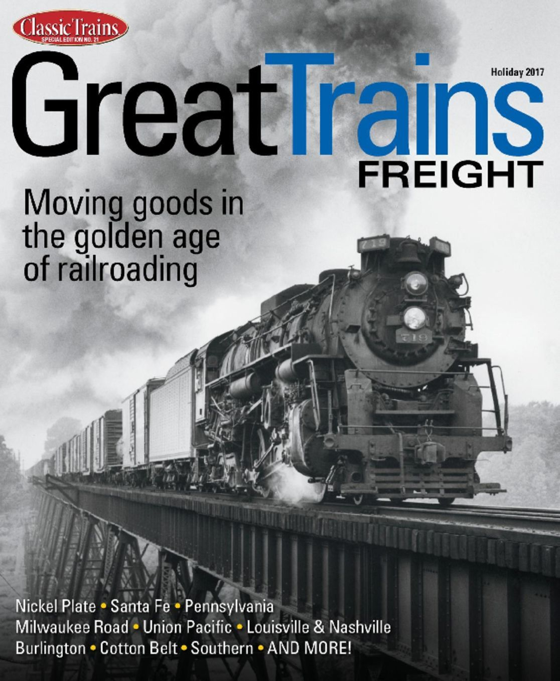 American Scientist Magazine Subscription: Great Trains Freight Magazine (Digital) Subscription