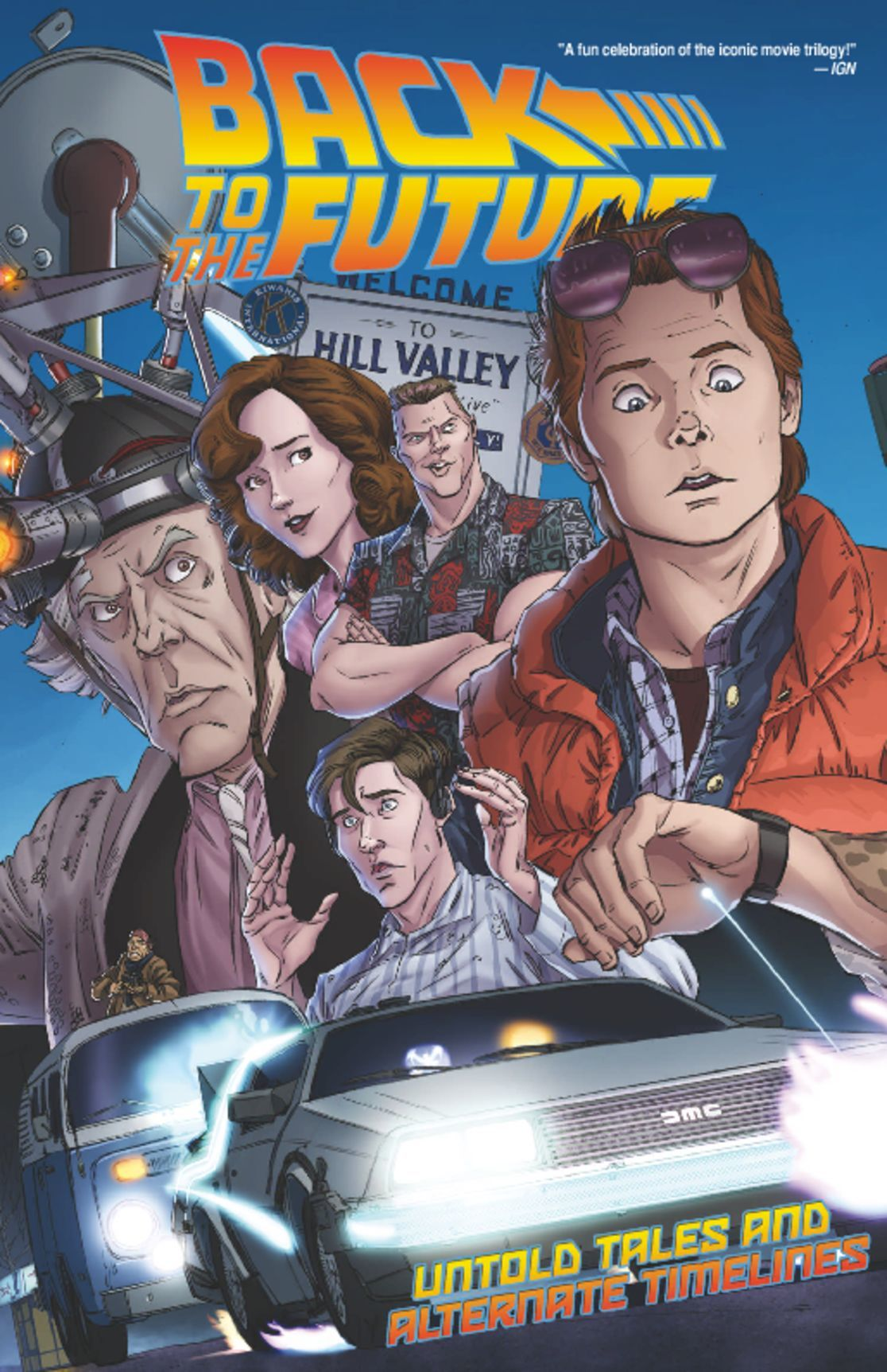 Back to the Future Vol 1 Untold Tales and Alternate Timelines Digital
