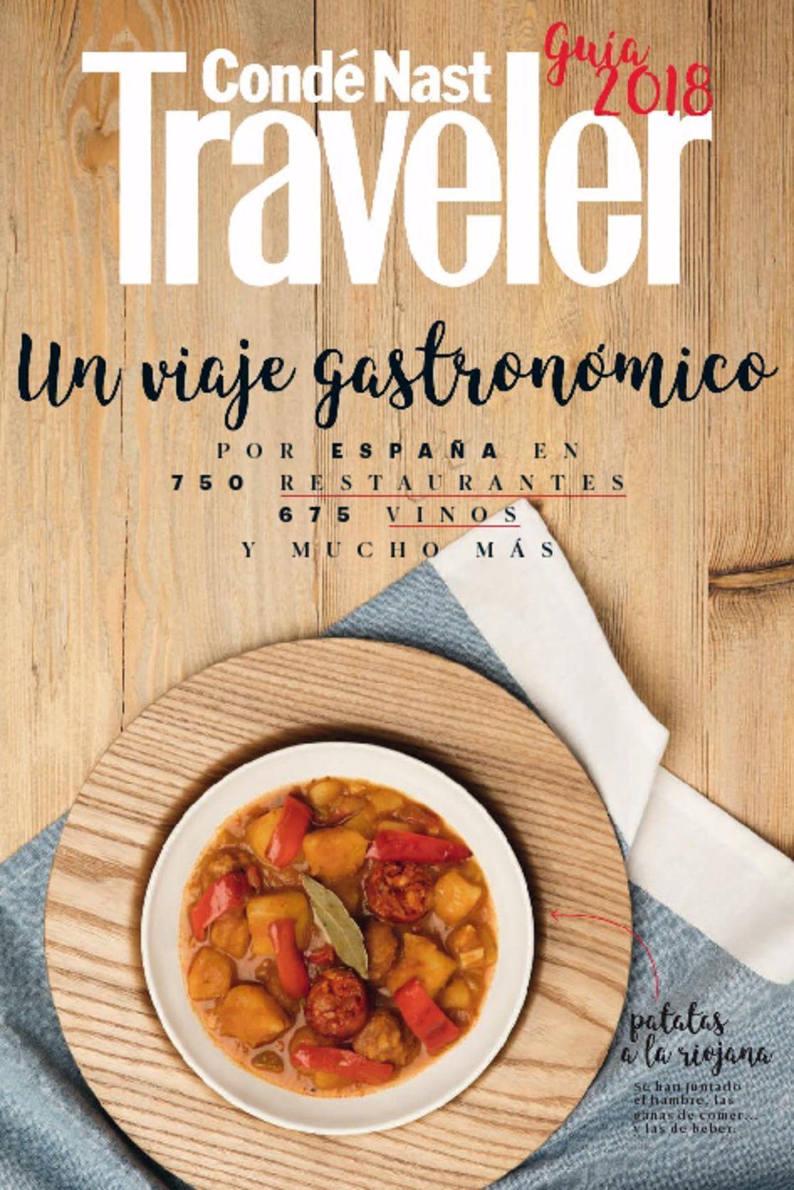 Condé Nast Traveler GUÍA GASTRONÓMICA 2018 Digital