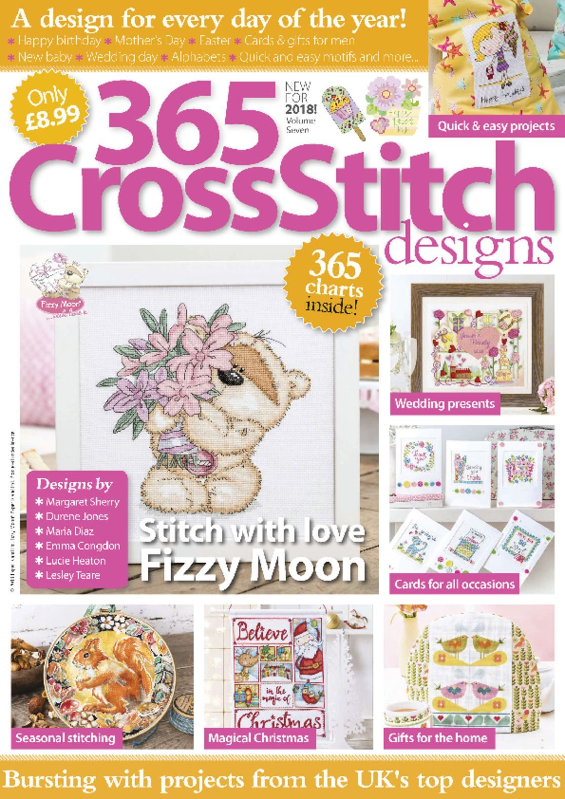 365 Cross Stitch Designs Digital