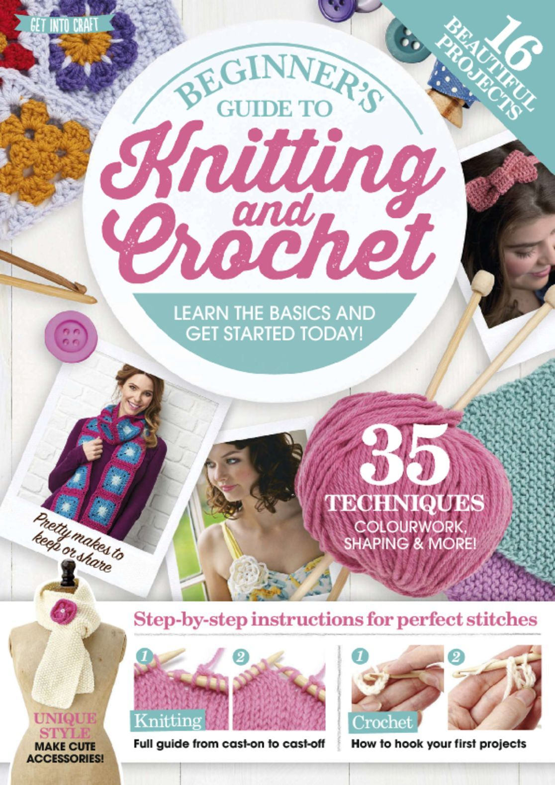 Beginners Guide to Knitting and Crochet Digital