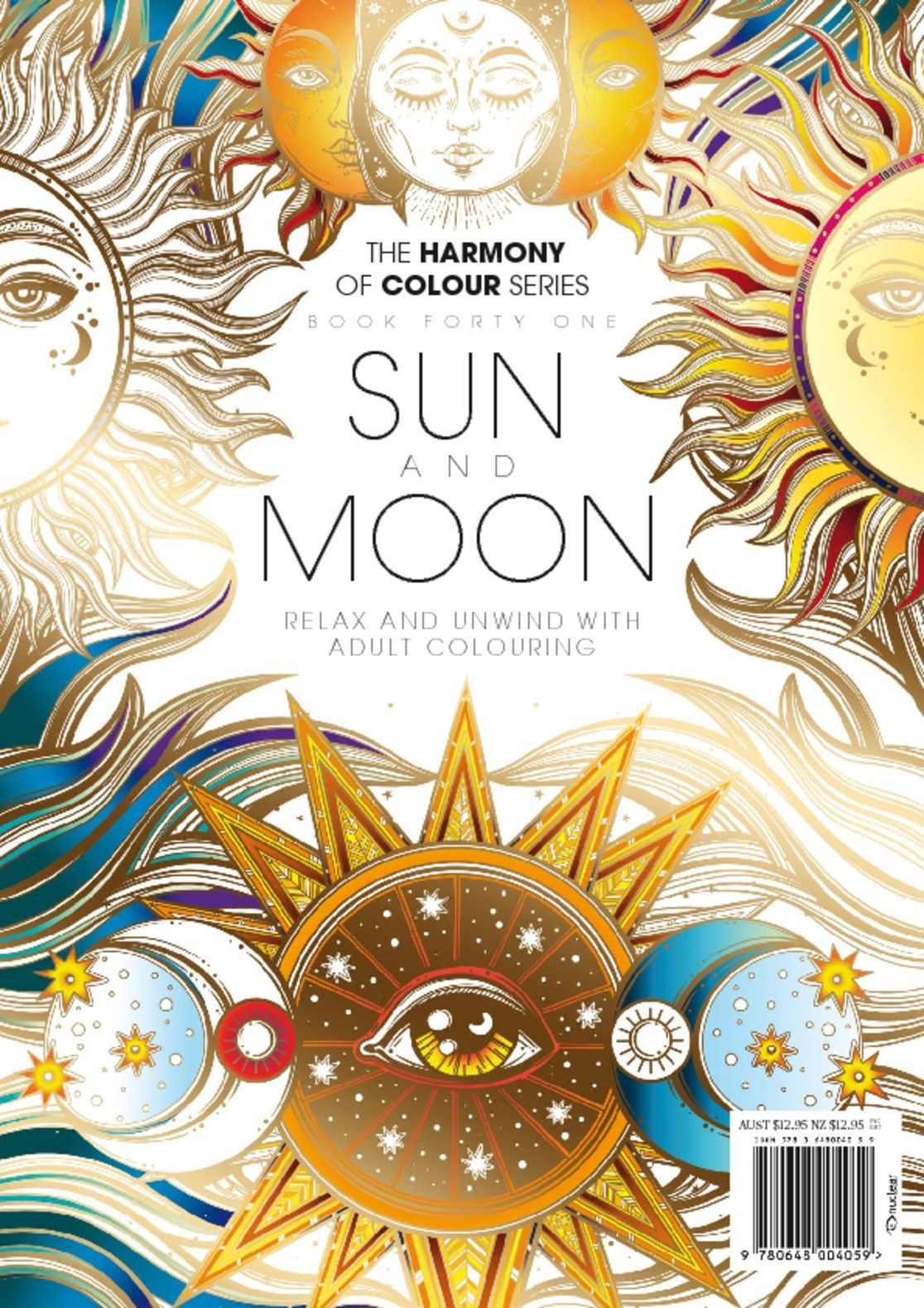 Colouring Book Sun and Moon Magazine