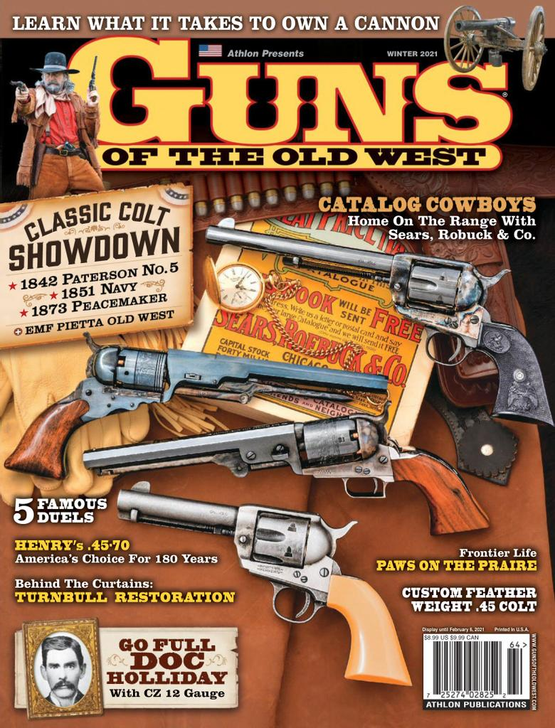 Best Price for Guns of the Old West Magazine Subscription
