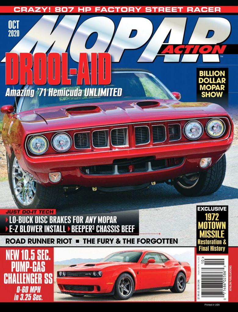 Best Price for Mopar Action Magazine Subscription