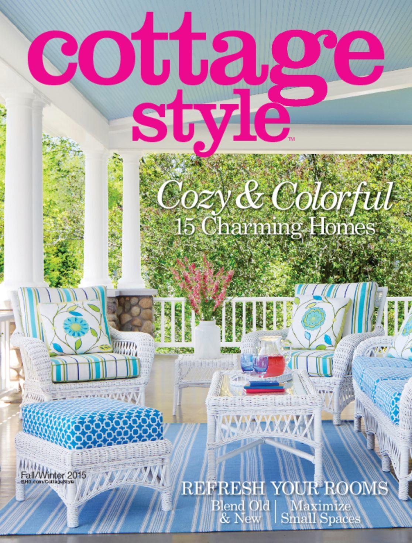 Cottage style digital magazine for Cottage design magazine