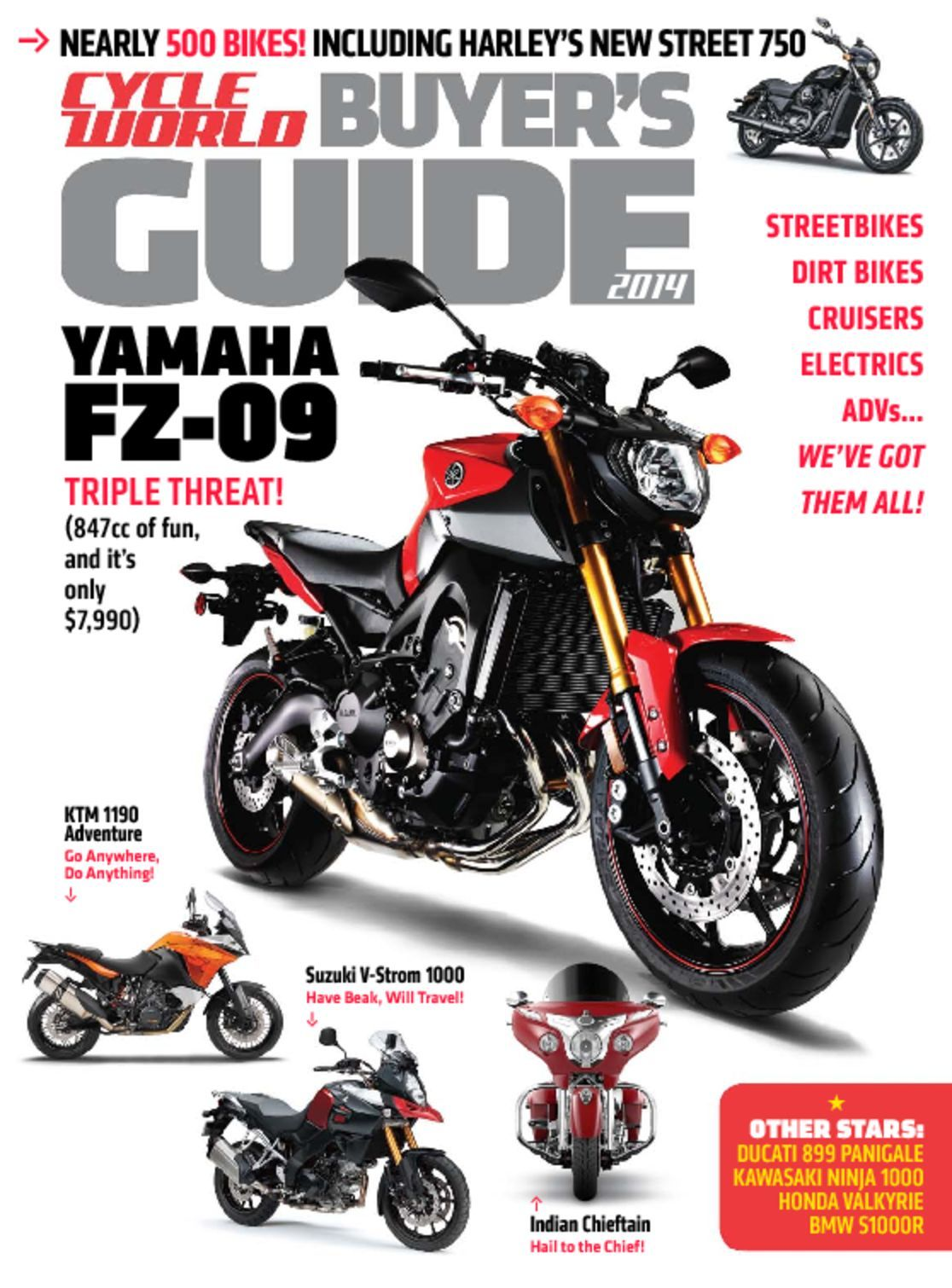 Buyer S Guide To Wardrobes: Cycle World Buyer's Guide Magazine (Digital