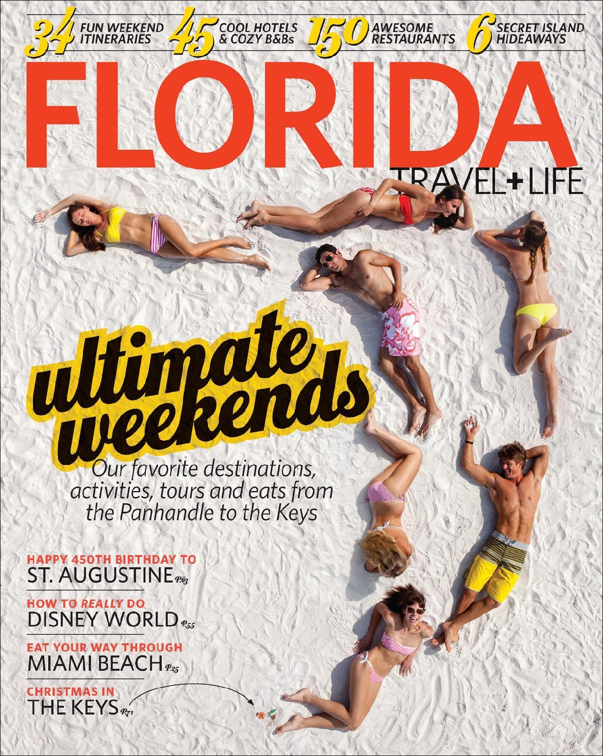 Florida Travel & Life Magazine Cover