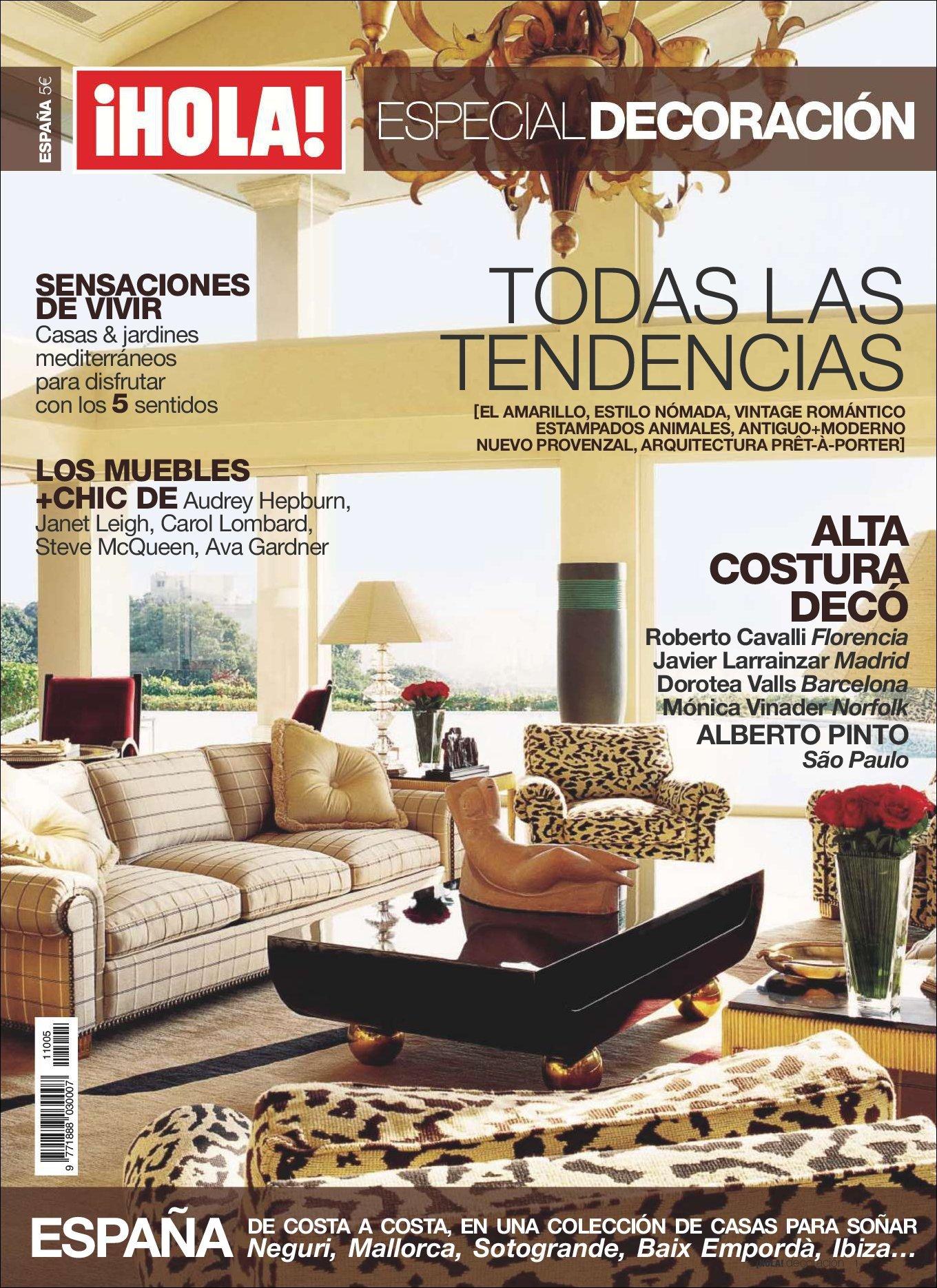 Hola Especial Decoraci N Magazine Digital Discountmags Com # Muebles Cover Decoracion