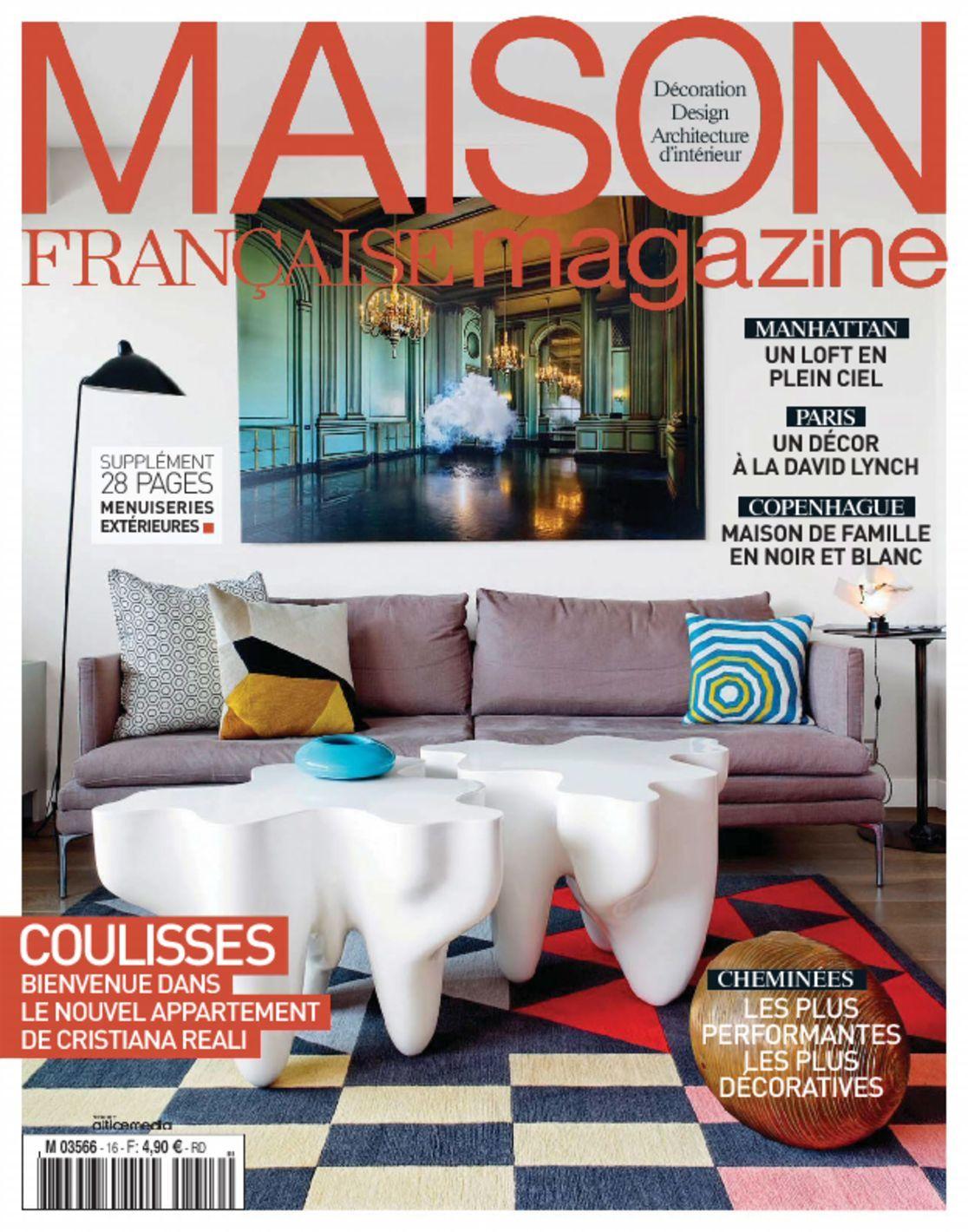 maison fran aise magazine digital. Black Bedroom Furniture Sets. Home Design Ideas
