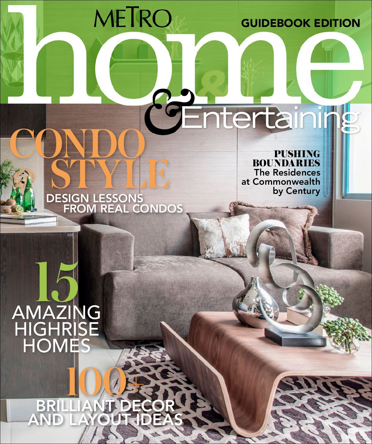 Metro Home And Entertaining Guidebook Edition Digital