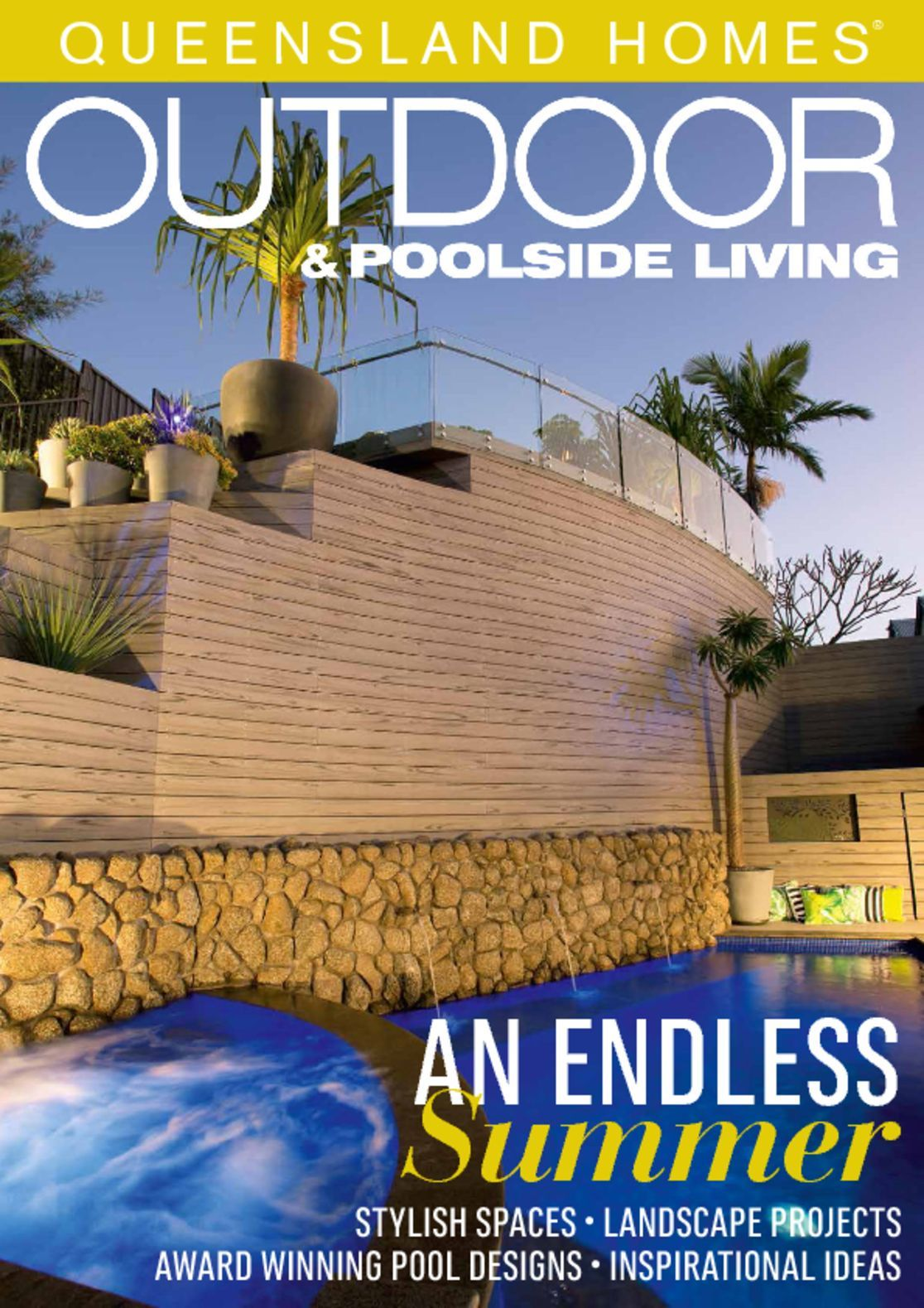Queensland homes outdoor living magazine digital for Outdoor living magazine