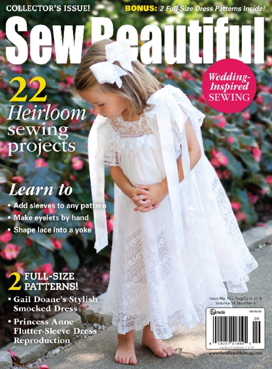 sew beautiful magazine  digital