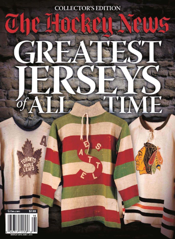 The Hockey News Great Jerseys 2009 Digital