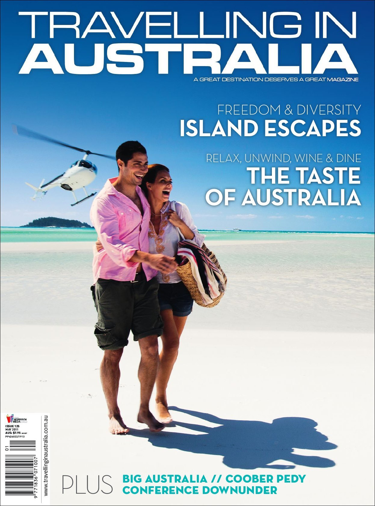 Travelling in Australia (digital) Magazine Cover