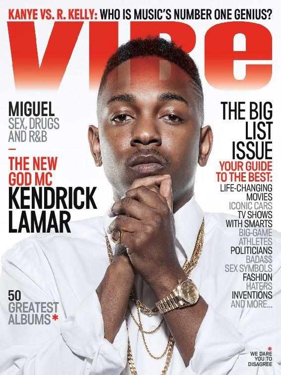 Vibe Magazine Cover