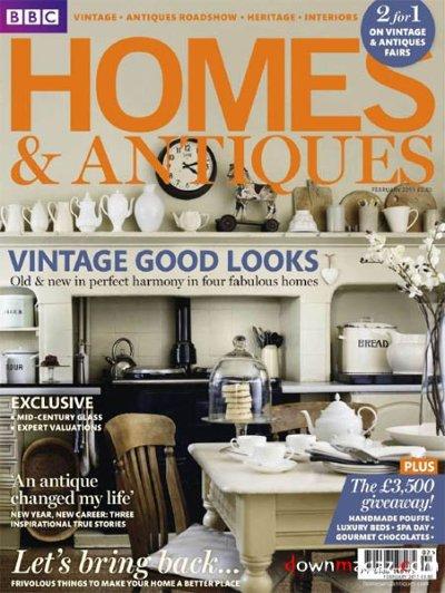 BBC Homes Antiques Magazine Subscription