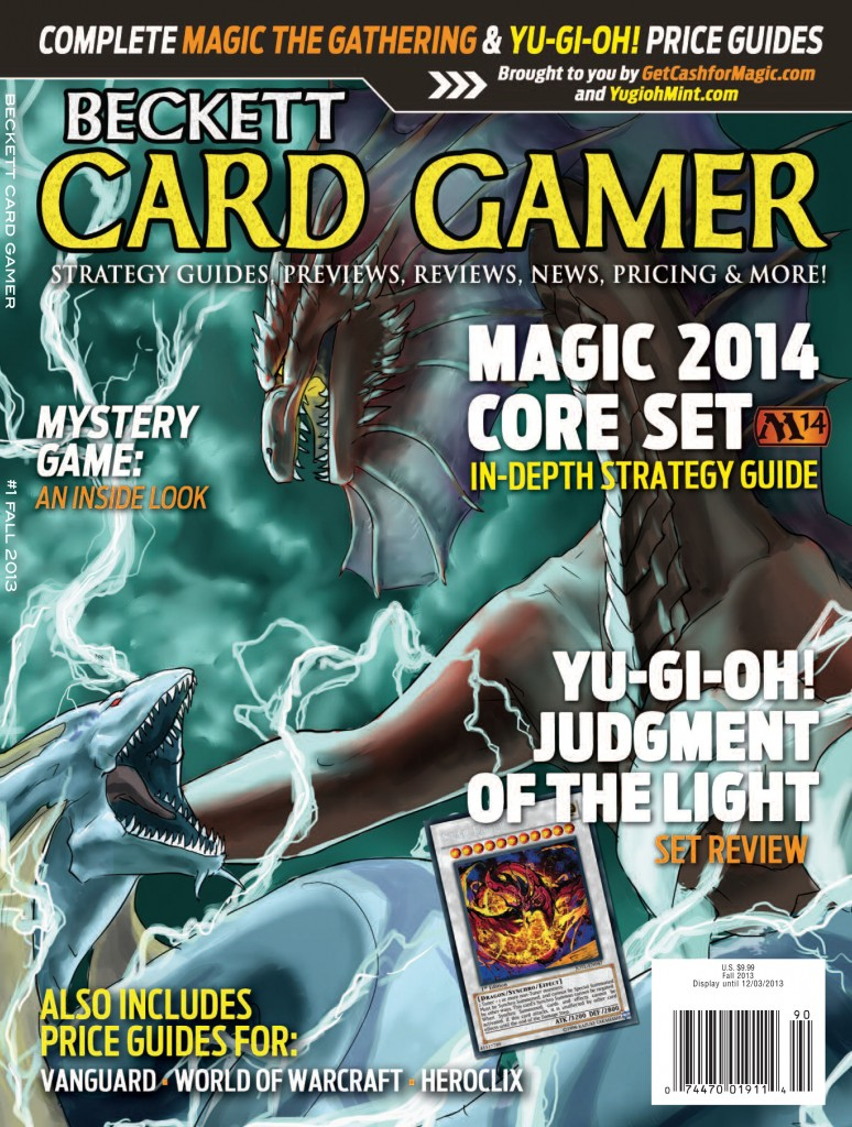 Beckett Card Gamer Magazine Subscription