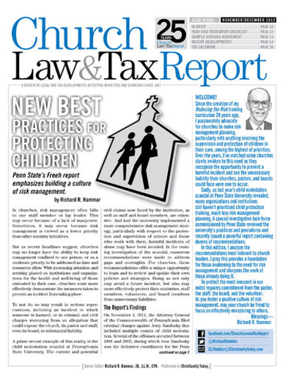 Church Law Tax Report Magazine Subscription