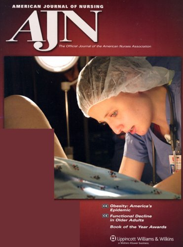 Cover of AJN sample issue