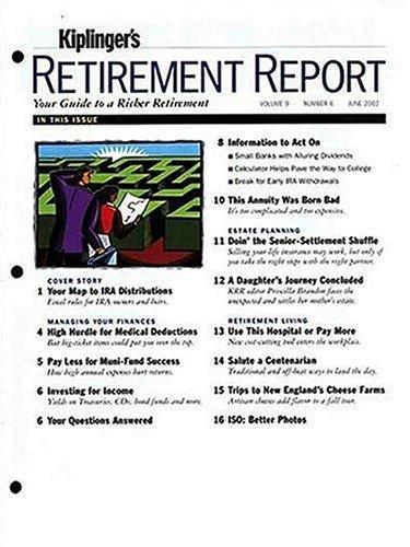 Kiplingers Retirement Report Magazine Subscription