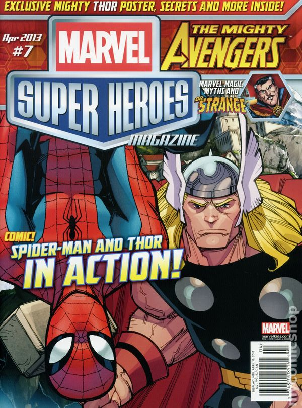 Marvel Super Heroes Magazine Subscription