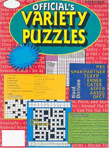 Official Variety Puzzles Word Games Magazine Subscription
