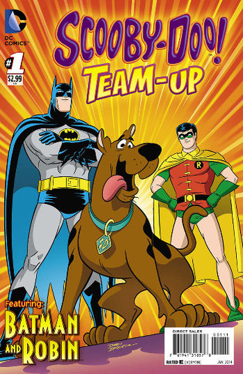 Scooby Doo Team Up Magazine Subscription