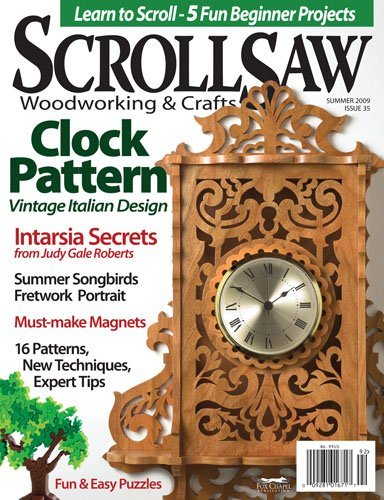 Scroll Saw Woodworking and Crafts Magazine Subscription
