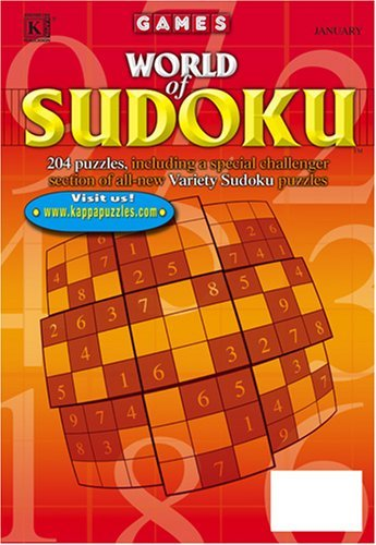 Best Price for World of Sudoku Magazine Subscription