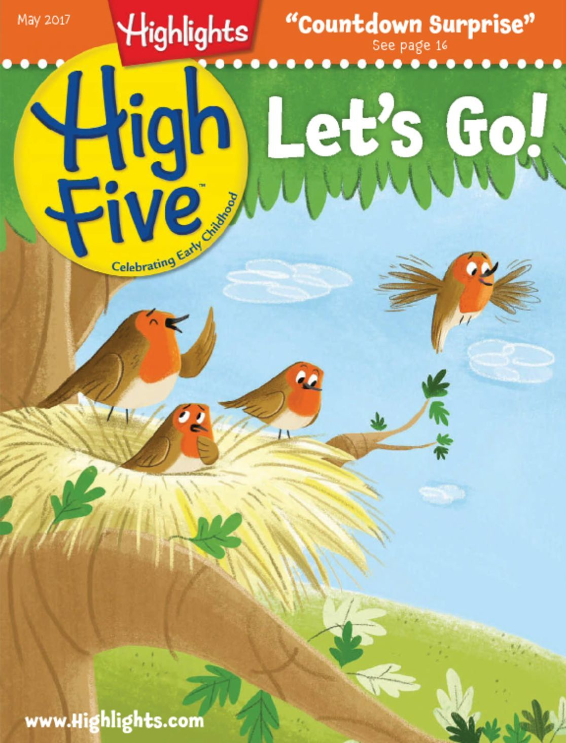 Highlights High Five for Year Olds. $ per Issue and up. Click through to Order.