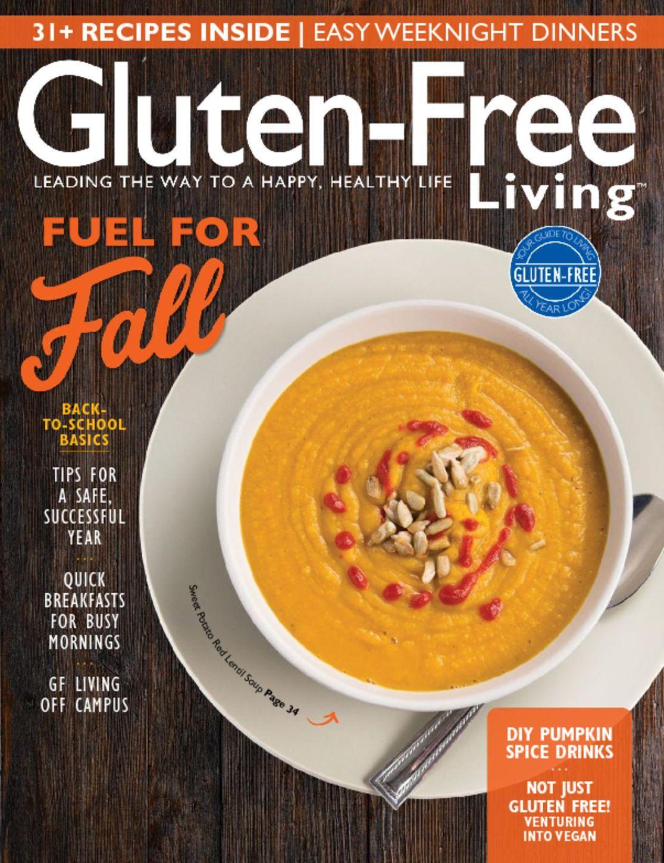 Gluten Free Living Magazine Subscription