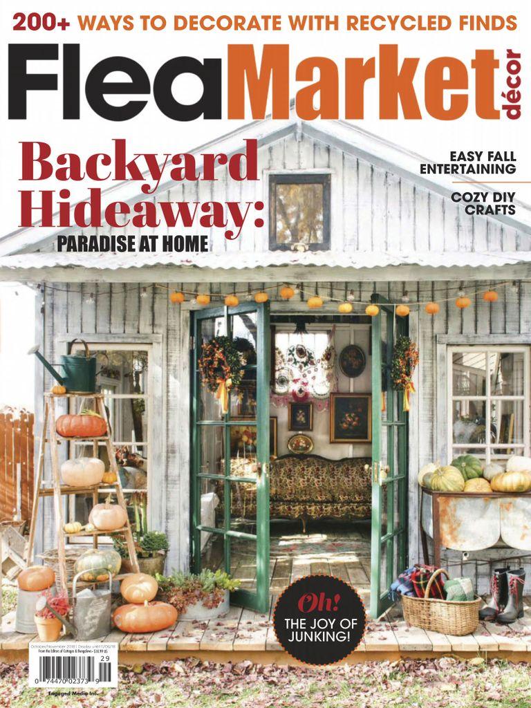 Flea market decor magazine for Flea market home decor