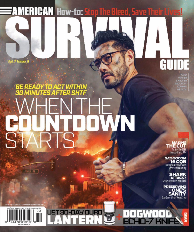 American Scientist Magazine Subscription: American Survival Guide Magazine
