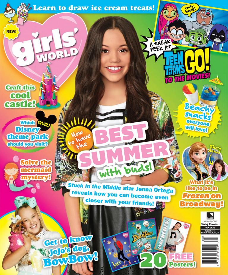 Мagazine Fashion 17 Only Sweet Girls: Girls World Magazine Subscription $17.55