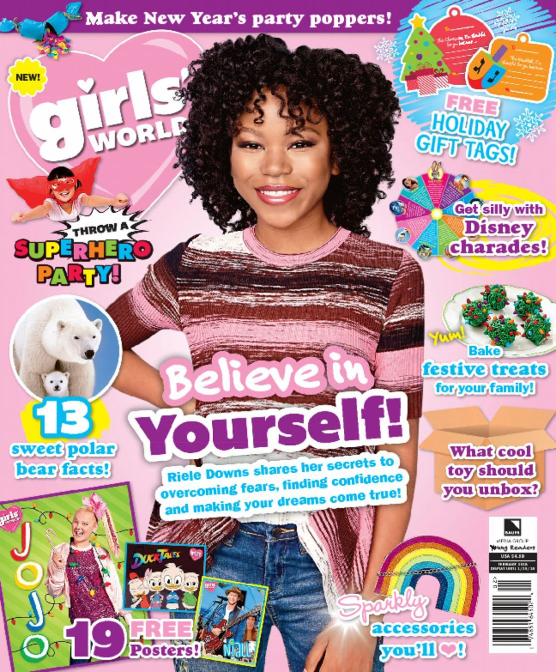 Girls World Magazine Subscription