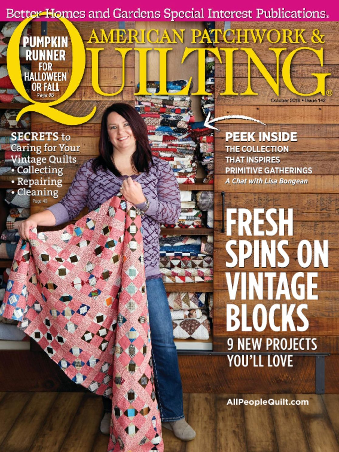American Patchwork and Quilting - February 2016 - Issue 138