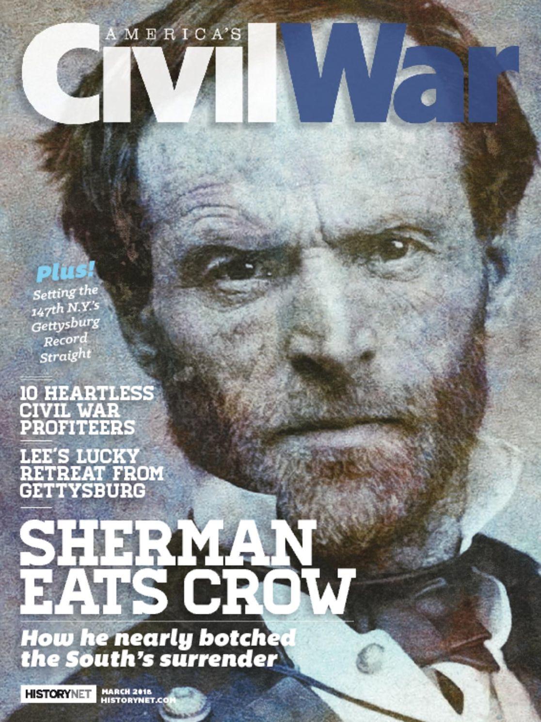 Americas Civil War Magazine Subscription