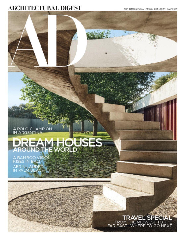 Architectural Digest Magazine The International Design Authority