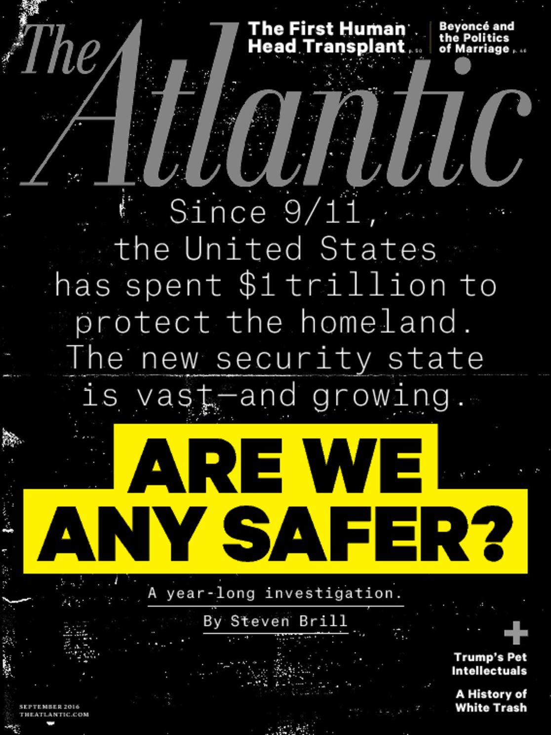 3-Year of The Atlantic Magazine Subscription