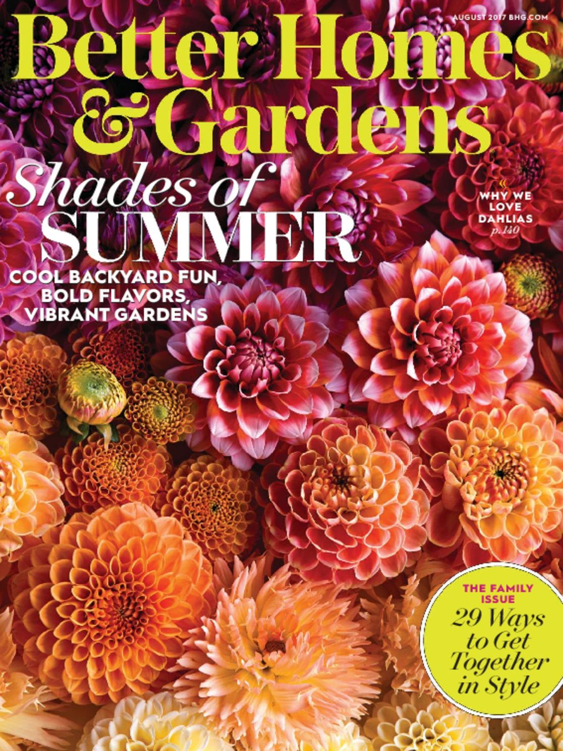 Better Homes Gardens: Better Homes & Gardens Magazine