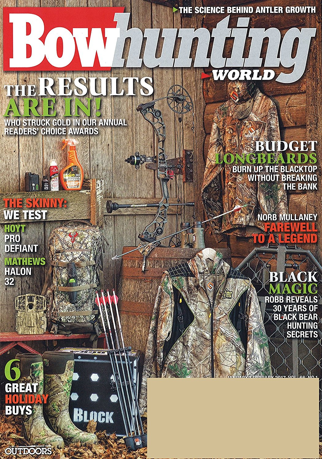 Bowhunting World Magazine Subscription