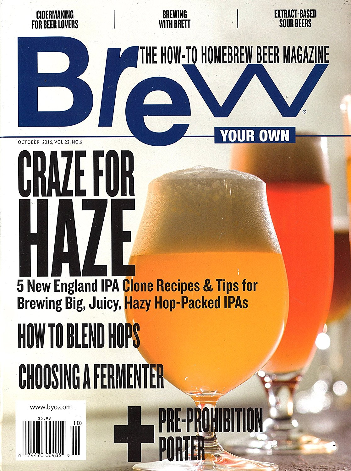 Brew Your Own Magazine | The How To Homebrew Beer Magazine ...